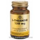 L-Teanina 150 mg 30 Cápsulas vegetales SOLGAR en Herbonatura.es