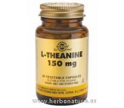 L-Teanina 150 mg 60 Cápsulas vegetales SOLGAR