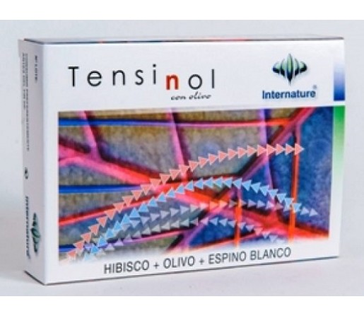 Tensinol, Olivo, Espino, Hibisco, Melisa... 60 cápsulas INTERNATURE