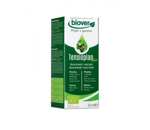 Tensioplan Biológico extracto, tensión 50ml. BIOVER