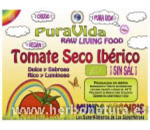 Tomate Seco Ibérico Sin Sal Ecológico 250gr. SUPERALIMENTOS