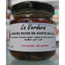 Tomates secos en aceite de oliva Ecológicos 130gr. LA VERDERA