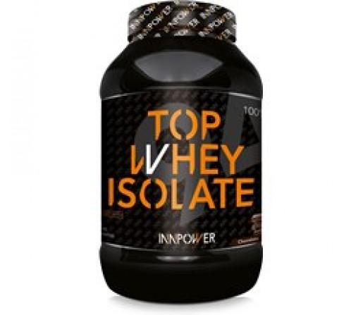 Top Whey Isolate Proteína con creatina, glutamina, BCAA y Q10 1,8kg. Sabor Cookies INNPOWER