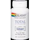 Total Cleanse Liver Limpieza Hepática 60 cápsulas SOLARAY en Herbonatura.es