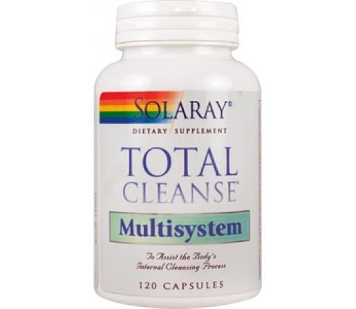 Total Cleanse Multisystem Limpieza de Emuntorios 120 cápsulas SOLARAY