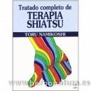 Tratado Completo de Terapia Shiatsu Libro, Toru Namikoshi EDAF en Herbonatura.es
