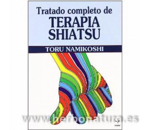 Tratado Completo de Terapia Shiatsu Libro, Toru Namikoshi EDAF