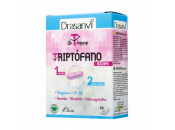 Triptófano Bicapa Be T Happy, Azafrán, Rhodiola, Ashwagandha Magnesio y B6 60 comprimidos DRASANVI