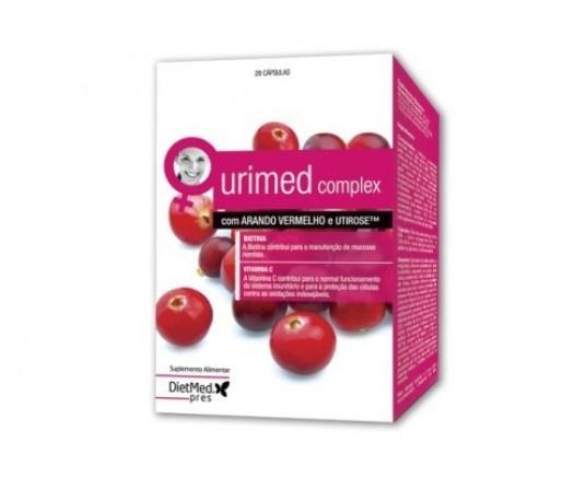 Urimed Complex Utirose, Hibiscus Sabdariffa, Arándano Rojo, Lactobacillus... 28 cápsulas DIETMED