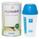 Vegenutril Vainilla, Proteina Vegetal sin aspartamo 350gr. NUTERGIA