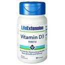 Vitamina D3 1000UI Colecalciferol. 90 perlas LIFEEXTENSION en Herbonatura.es