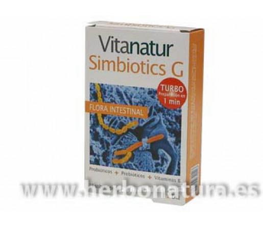 Vitanatur Simbiotics G Flora Intestinal Probióticos Turbo 14 sobres DIAFARM