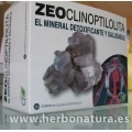Zeoclinoptilolita Zeolita Mascarilla detoxificante 30 sobres de 2,5gr. CFN