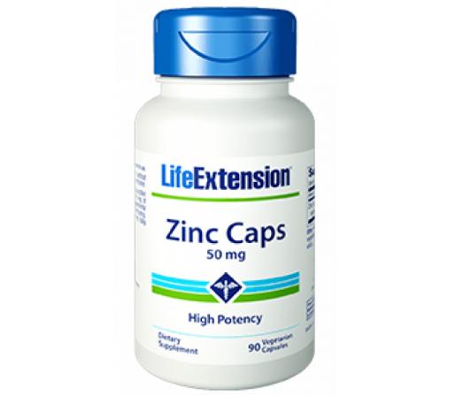 Zinc OptiZinc, monometionina de zinc, zinc citrato 90 cápsulas LIFEEXTENSION